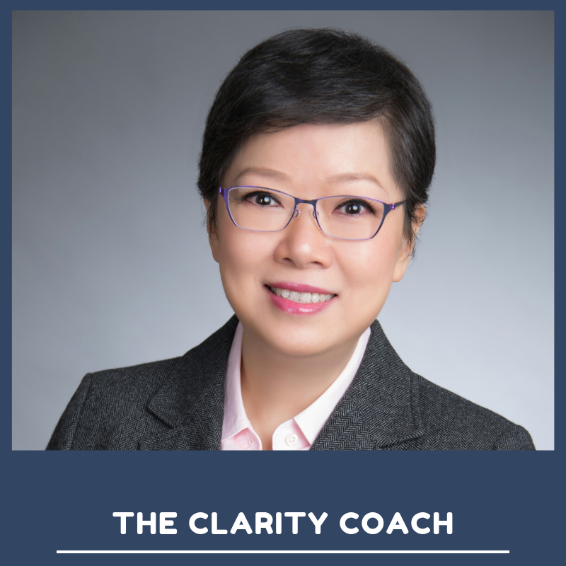 Amy Yeung, The Clarity Coach at Work In Progress