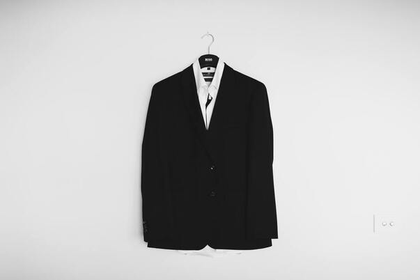 A business suit for a leadership position